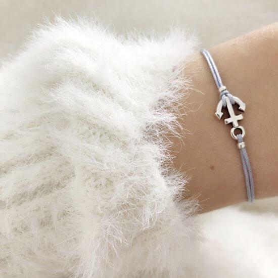 Armband Anker Silber