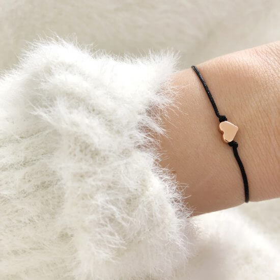 Armband Herz Roségold