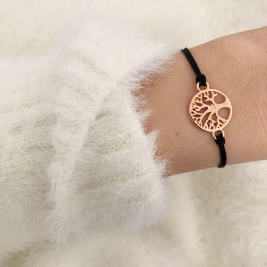 Armband Lebensbaum Roségold