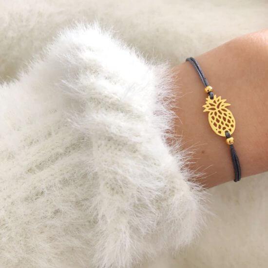 Armband Ananas Gold