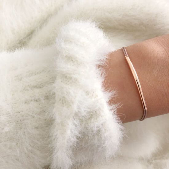 Armband Tube Roségold