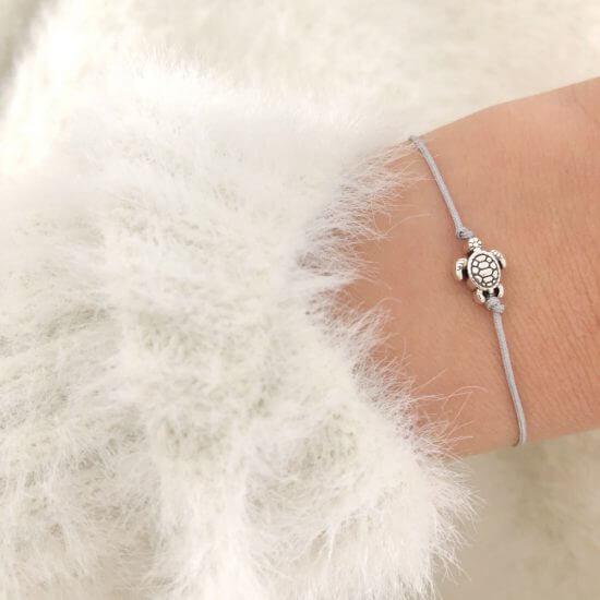 Armband Schildkröte Silber