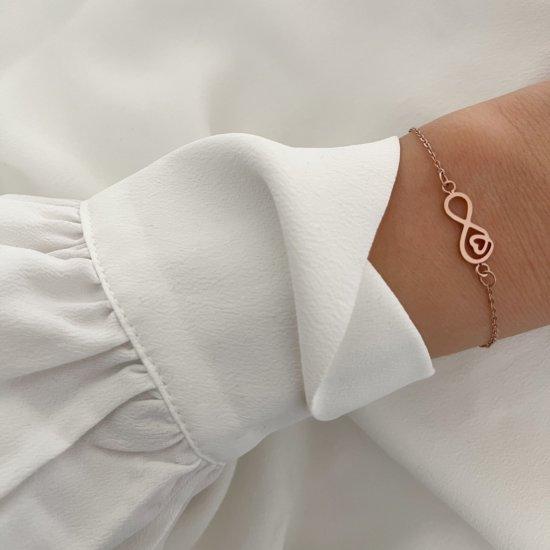 Endlesslove Armband Roségold