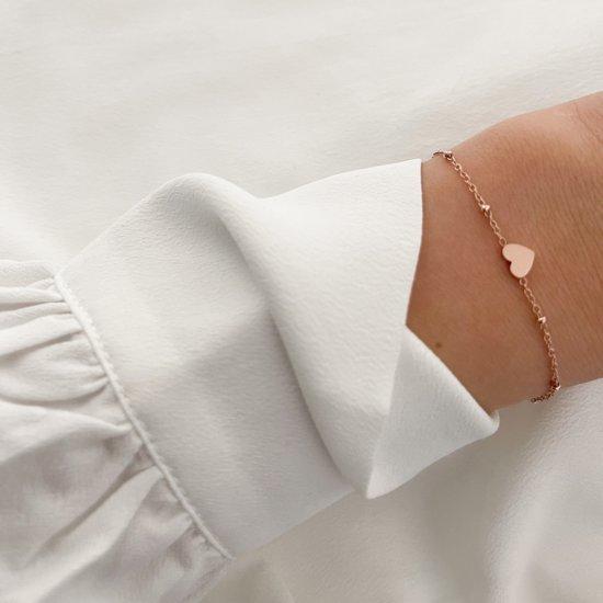 Heart Armband Roségold