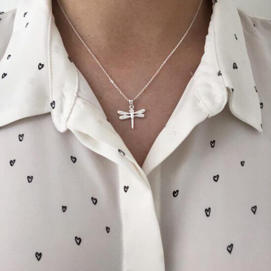 Libelle Halskette