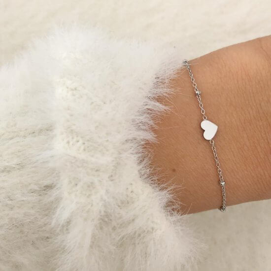 Armband Heart Silber