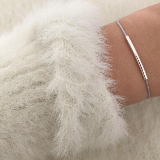 Armband Tube 925 Silber