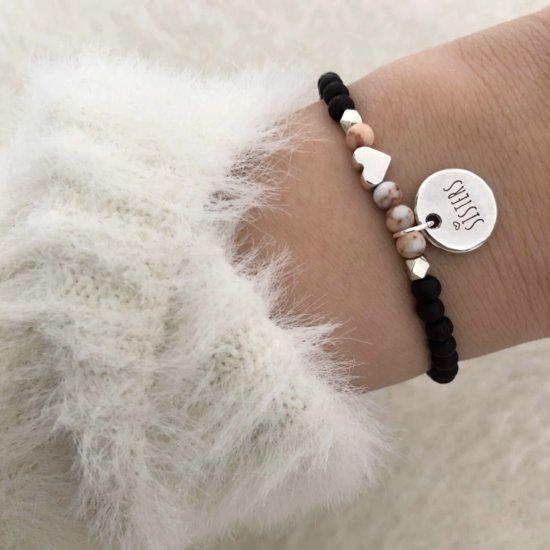 Armband Sisters Silber