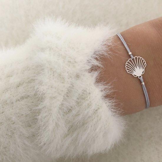 Armband Muschel Silber