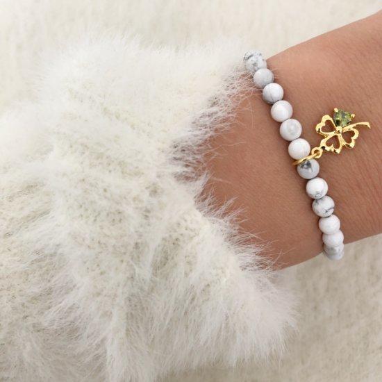 Armband Kleeblatt