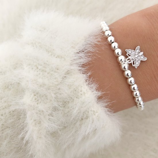 Armband Butterfly Silber