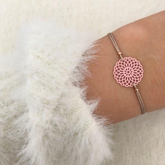 Armband Mandala Pink