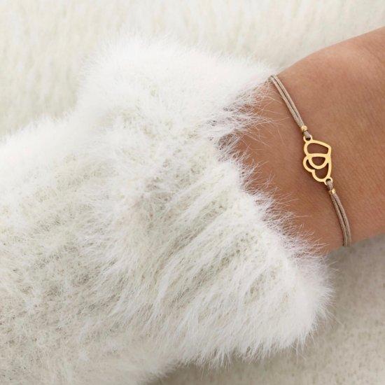 Armband Hearts Gold