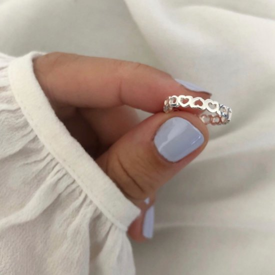 Ring Million Hearts 925 Silber