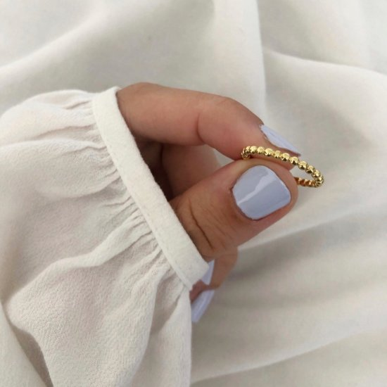 Ring Doty 925 Silber Gold