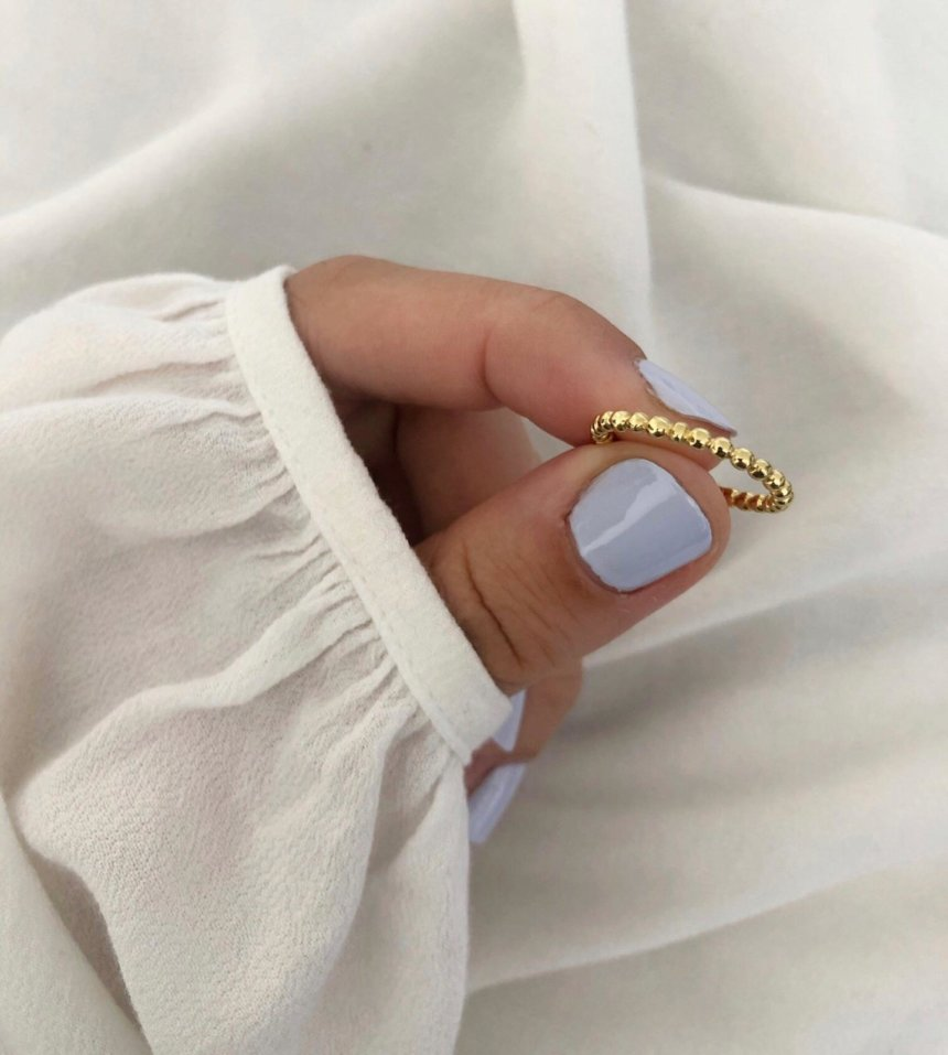 Ring Doty 925 Silber Gold