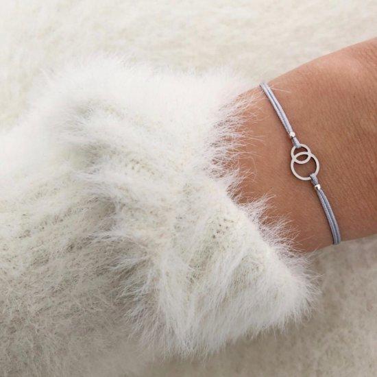 Armband Circles Silber Edelstahl