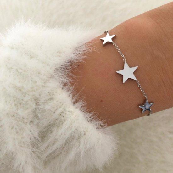 Armband Stars Silber