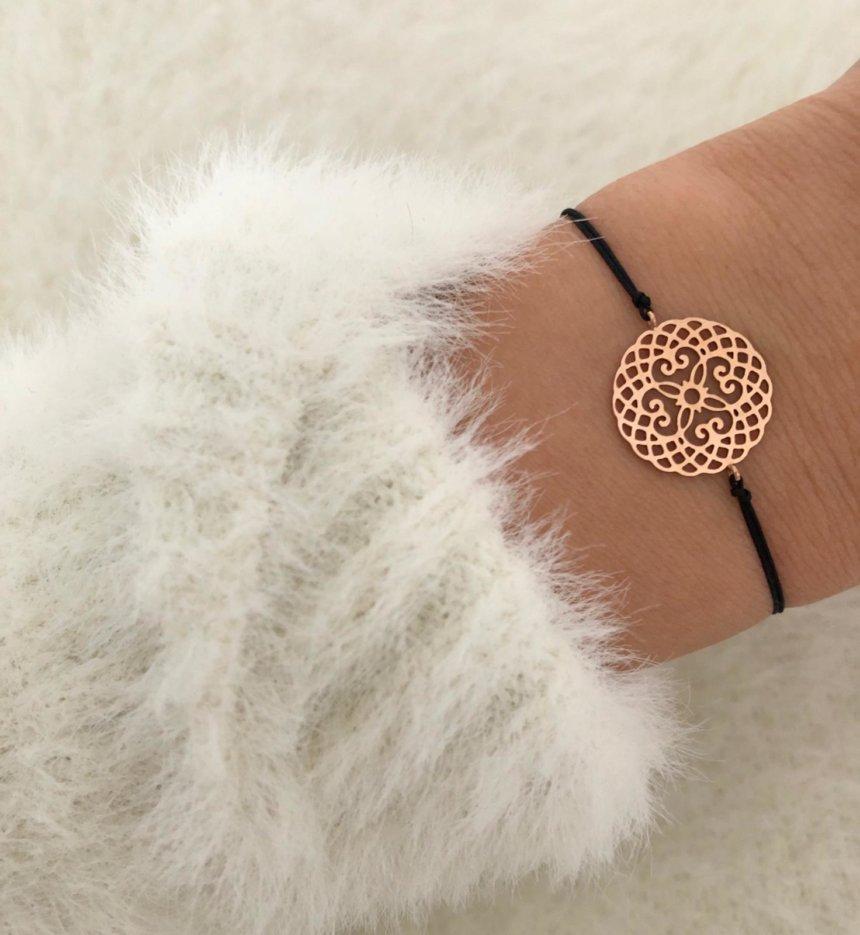 Armband Mandala Roségold