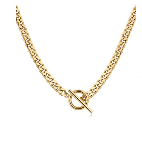 Halskette Chain Gold Edelstahl