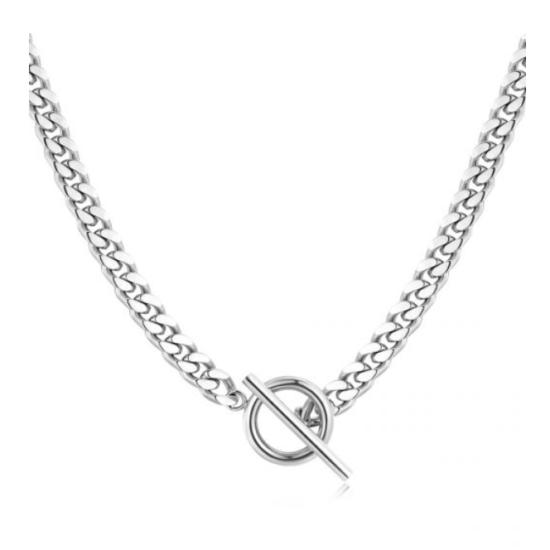 Halskette Chain Silber Edelstahl