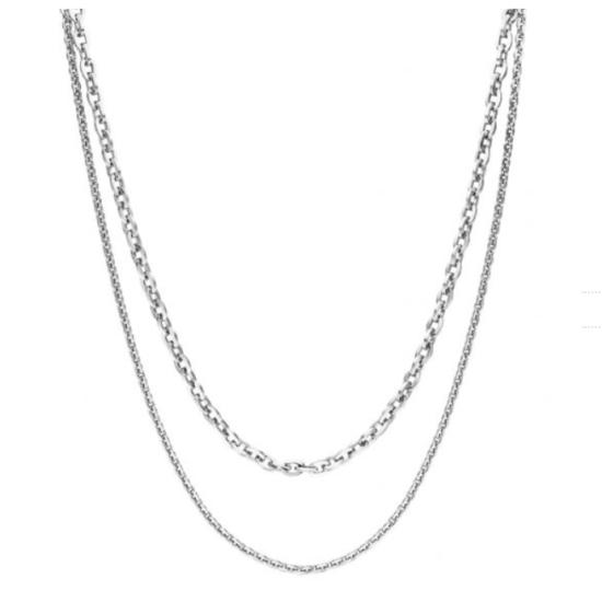 Halskette Special Silber Edelstahl
