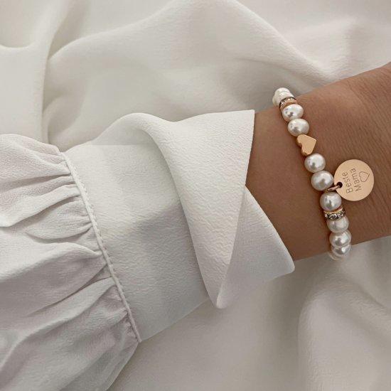 Armband Beste Mama Roségold