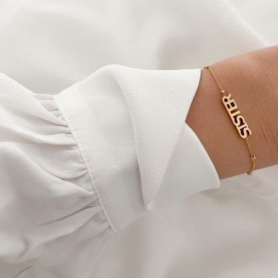 Armband Sister Silber
