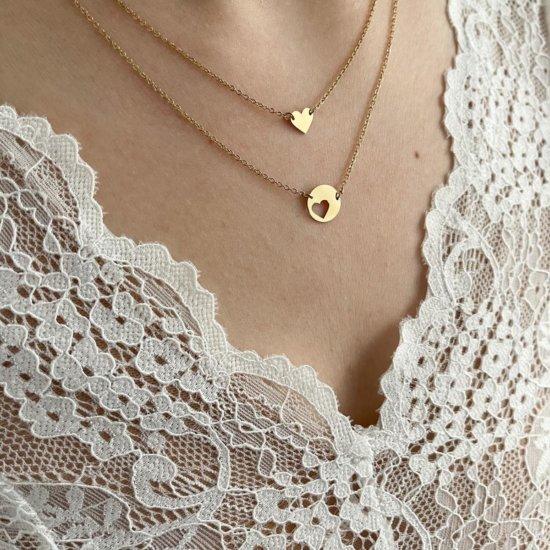 Halsketten Set You're my heart Gold