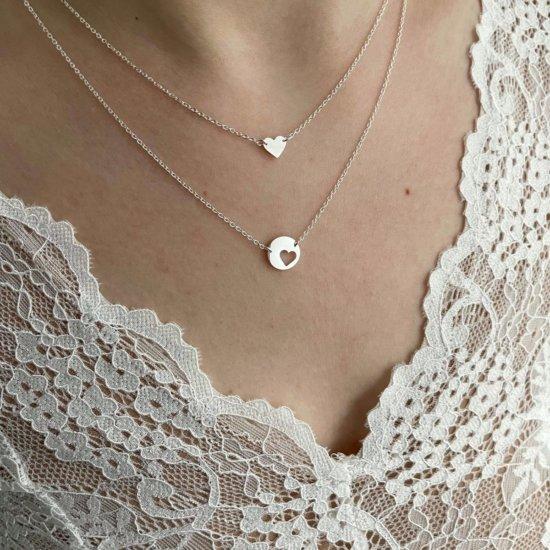 Halsketten Set You're my heart Silber
