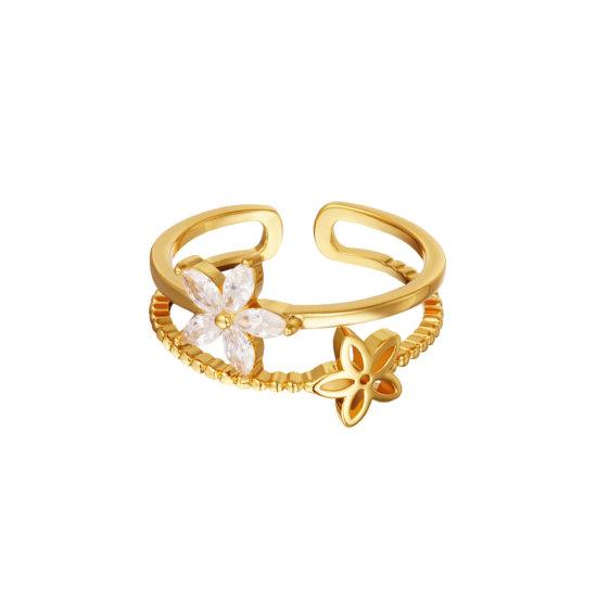 Ring Little Flower Gold